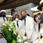 214ème anniv de l'assassinat de Dessalines: -Jovenel Moise dépose une gerbe de fleurs au MUPANAH mais évite Pont Rouge et Marchand
